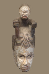 Royal Ceremonial Mask, Igbo Peoples, Nigeria