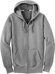 Full Zipper Hooded Sweatshirt Adult GPA