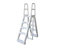 A Frame Pool Ladder - Heavy Duty Ladder for Above Ground Pools