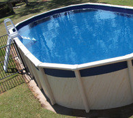 Oval Pool Liner 5m x 3.8m x 1.37m, Australian Made