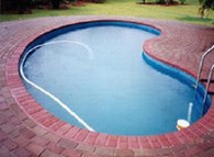 Kidney Shape Pool Liner for Sterns 8.53m x 4.5m Pool, Australian Made