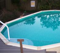 Palm Cove Oval Pool - 3.8m Wide x 1.37m Deep