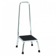 Brewer Step Stool with Handrail, Single