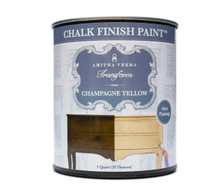 Champagne Yellow Chalk Finish Paint