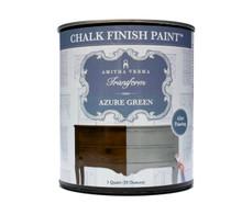 Azure Green Chalk Finish Paint