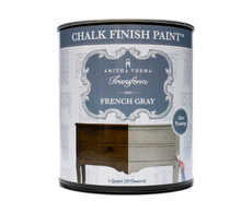 French Gray Chalk Finish Paint