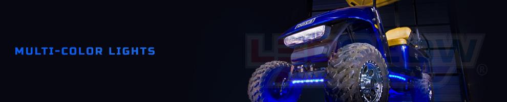 LED Multi Color Golf Cart Lights