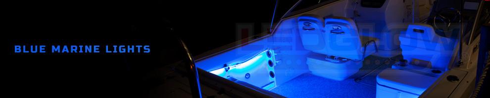 LED Blue Marine Lights