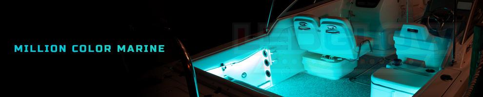 LED Multi Color Marine Boat Lights
