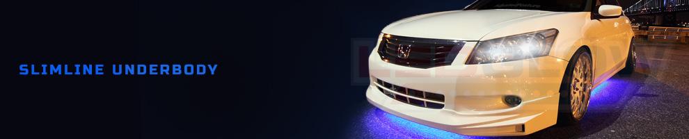 LED Slimline Underbody Underglow Kits