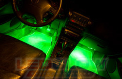 LED Interior Light Kits for Cars by LEDGlow