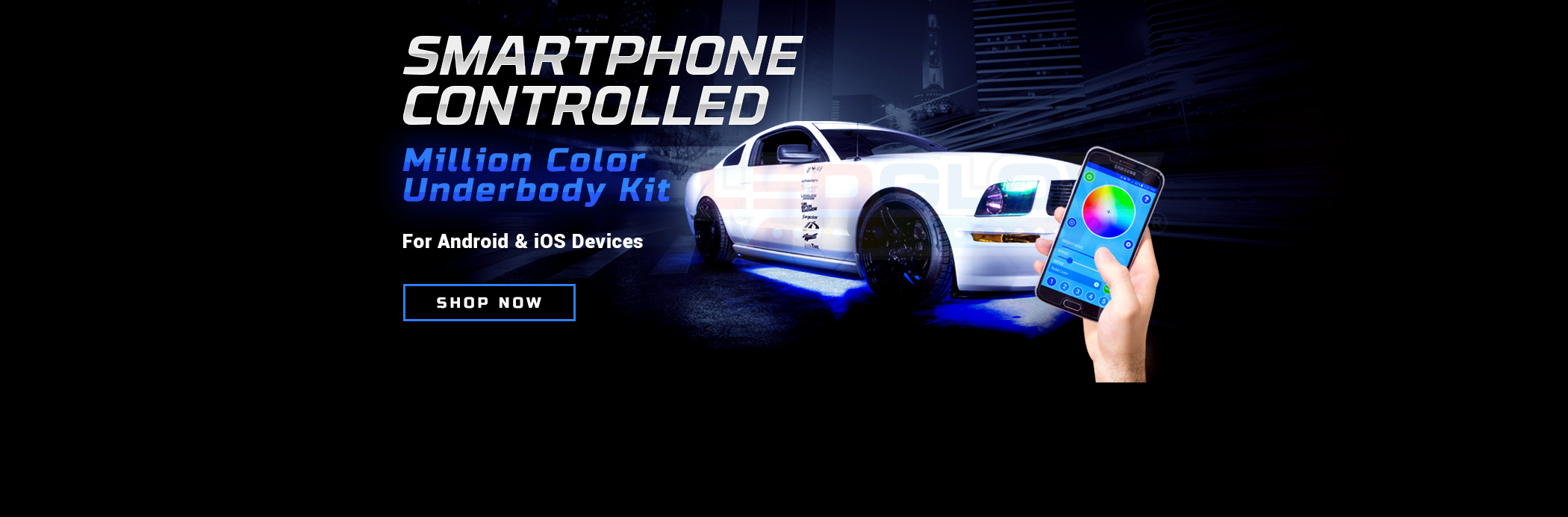 Smartphone Controlled Underbody LED Lights