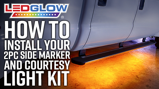 LEDGlow Side Marker & Courtesy Lights Installation Video