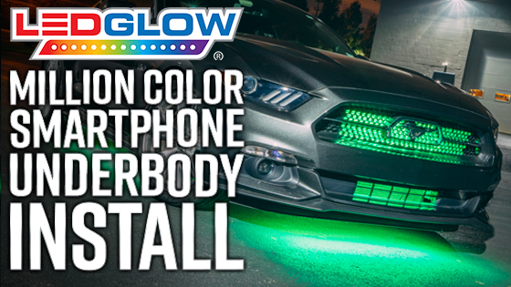 LEDGlow Million Color Under Lighting with Smartphone Control on ez go light kits, go cart light kits, golf kits chandeliers, generator light kits, home light kits, golf carts for rent,
