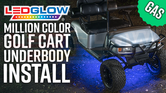 Gas Golf Cart Underbody Lights Install