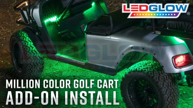 Golf Cart Underbody Add-On Wheel Well & Interior Lights