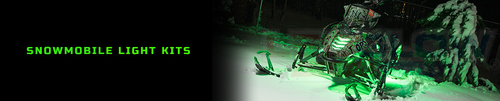 LED Snowmobile Light Kits