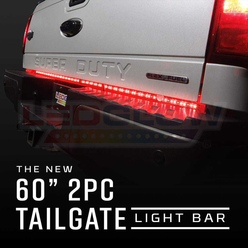 Ledglows Led Tailgate Light Bar Installation Tipos De Cancer Anzo Wiring Diagram Introducing The New And Improved Ledglow 60 Lighting