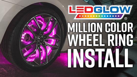 LEDGlow Wheel Ring LED Lights