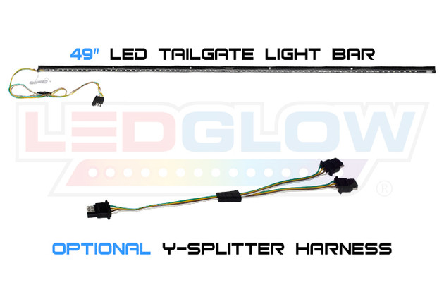 "49"" LED Tailgate Light Bar & Optional Y-Splitter Harness"