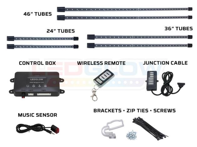 Purple Wireless SMD LED Truck Underbody Lighting Kit
