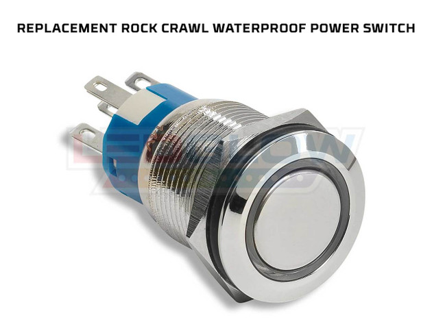 Replacement Rock Crawl Waterproof Power Switch