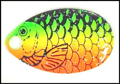 #3 Indiana Blades - Firetiger Fish Scale