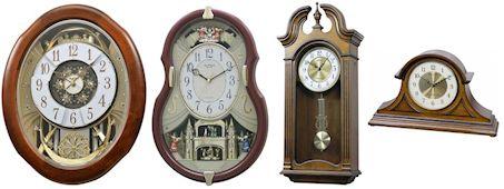 Rhythm Small World Clocks