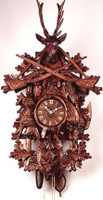 Rombach and Haas Grand Hunting Cuckoo Clock by 8398