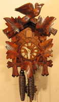 Sternreiter Black Forest Bird & Leaf Cuckoo Clock 1200