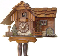 Rombach and Haas 1 Day Black Forest Jumping Squirrel Cuckoo Clock