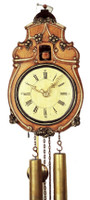 Rombach and Haas Black Forest 8 Day Baroque Sheild Cuckoo Clock 3400