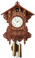 Rombach and Hass 8 Day Black Forest Beha Chalet Cuckoo Clock 3406