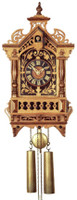 Rombach and Haas 8 Day Fretwork Black Forest Chalet Cuckoo Clock 8264
