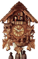 Rombach and Haas 8 Day Black Forest Chalet Musical Cuckoo Clock 8307