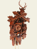 8-Day German Black Forest Musical Hunting Cuckoo Clock 8361