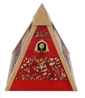 Rombach and Haas Filigree Pyramid Cuckoo Clock PYR3