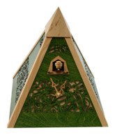 Rombach and Haas Filigree Pyramid Cuckoo Clock PYR4