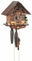 Schneider Quartz 8 inch Blackforest House Cuckoo Clock Q 86/9