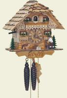 Schneider 1 Day Wooden Chalet Cuckoo Clock 75/0