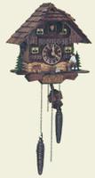 Schneider 1 Day Wooden Chalet Cuckoo Clock 75/9