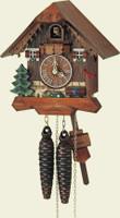 Schneider 1 Day Wooden Chalet Cuckoo Clock 85/9