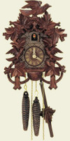 Schneider 1 Day Bird and Leaf Cuckoo Clock 872/11