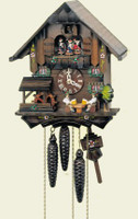 Schneider 1 Day Wooden Musical Cuckoo Clock - MT 1407/10