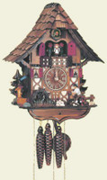 Schneider 1 Day Wooden Musical Cuckoo Clock - MT 1683/9