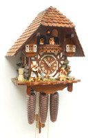 Rombach and Haas Mandoline Musical Chalet Cuckoo Clock 8316