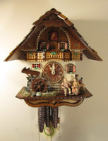 Romba 1 Day Oma and Opa Cuckoo Clock 1312