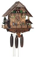 Schneider 8 Day Bell Ringer Chalet Cuckoo Clock  8TMT 1373/9
