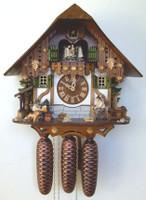 Schneider 8 Day Chalet Cuckoo Clock 8TMT 6407/10