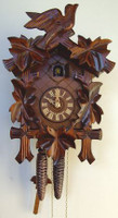Schneider 1 Day Bird and Leaf Cuckoo Clock - 90/9